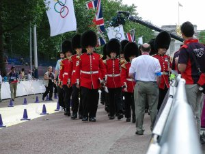 TheQueen's Guard with Palance in the background