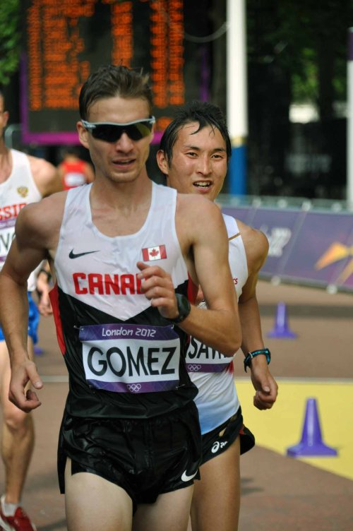 Inaki Gomez - Men's 20km Race Walk