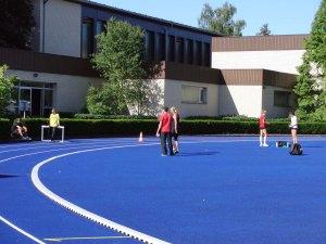 Training track and indoor training facilities