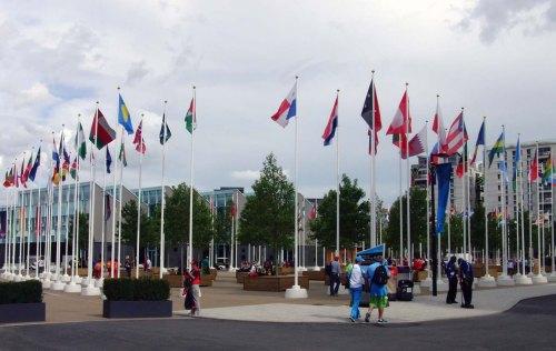 Athletes Village Plaza